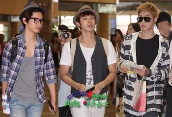 韓国アイドル「空港ファッション」キム・ヒョンジュンとトンの画像.jpg