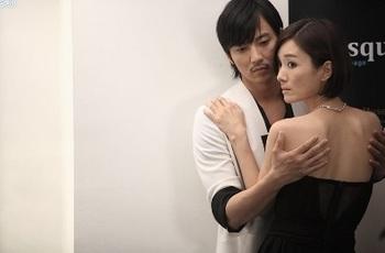 韓国ドラマのキスシーン「赤と黒」ナムギルの画像.jpg